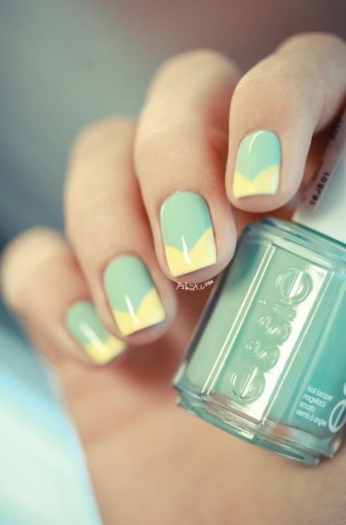 NAIL IDEAS: Pastel Manicure