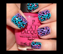 Colorful Leopard Prints