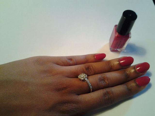 Fuschia Almond Nails | 10 Pretty Fingers
