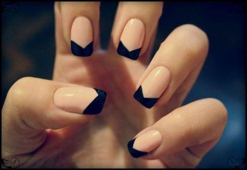 NAIL IDEAS: Tuxedo Nails